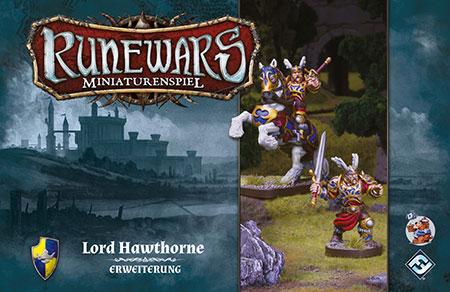 Runewars - Miniaturenspiel - Lord Hawthorne Held Erweiterung