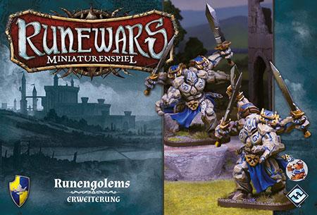 Runewars - Miniaturenspiel - Runengolems Einheit Erweiterung