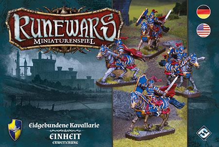 Runewars - Miniaturenspiel - Eidgebundene Kavallerie Einheit Erweiterung
