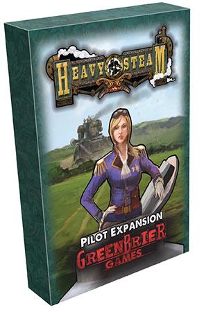 Heavy Steam - Pilot Erweiterung (engl.)
