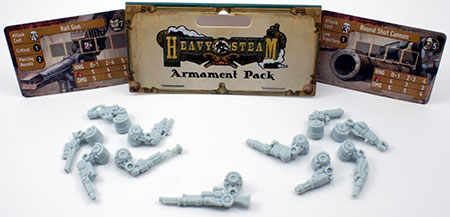 Heavy Steam - Armament Pack (engl.)