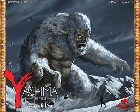 Yashima - Legends of the Icy Peaks Erweiterung (engl.)