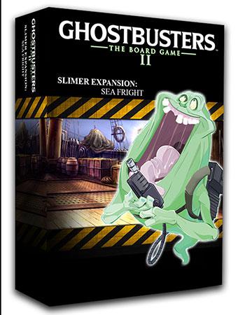 Ghostbusters - Das Brettspiel II - Slimer Sea Fright Erweiterung (engl.)