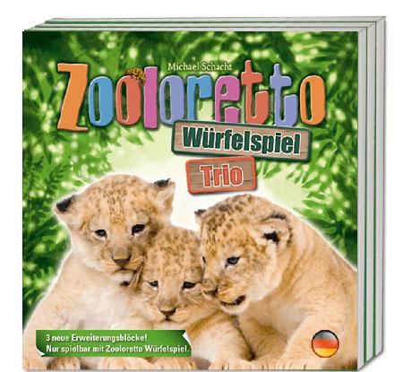 Zooloretto Würfelspiel - Trio Erweiterungsblöcke