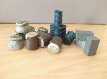 Scythe - Ressourcen Spielsteine