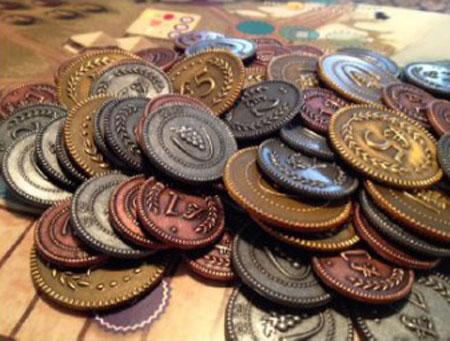 Viticulture & Tuscany - Spielgeldmünzen aus Metall