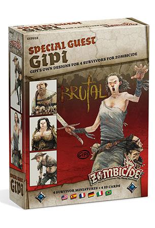 Zombicide - Black Plague - Special Guest - Gipi