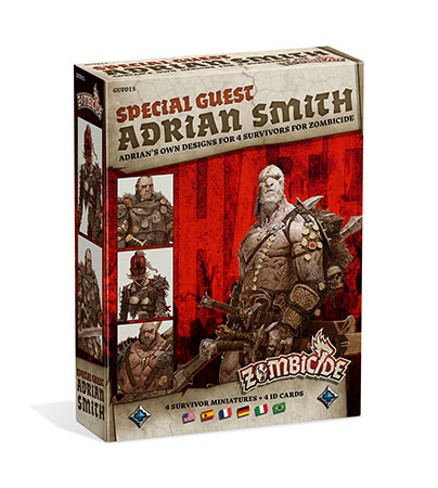 Zombicide - Black Plague - Special Guest - Adrian Smith