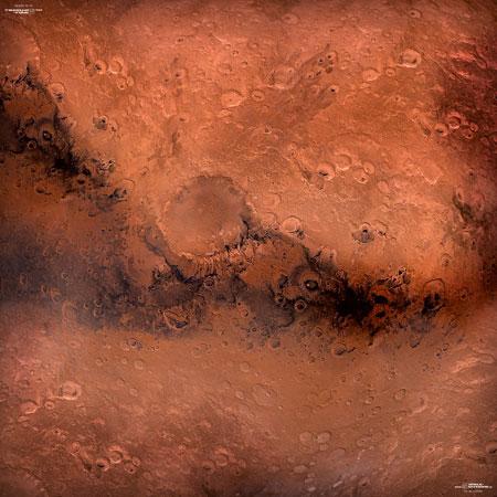 Spielmatte Mars (90 x 90 cm)