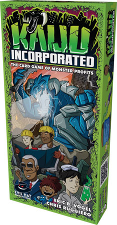 Kaiju Incorporated - The Card Game (engl.)