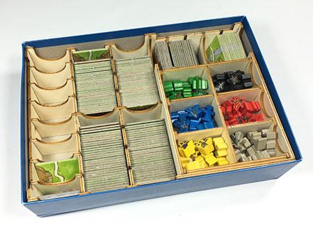 GeekMod - Sortierbox aus Holz für Carcassonne