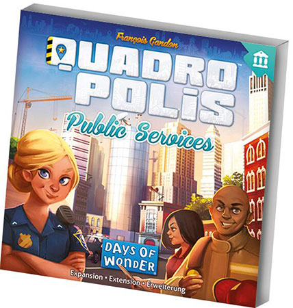 Quadropolis - Public Services Erweiterung