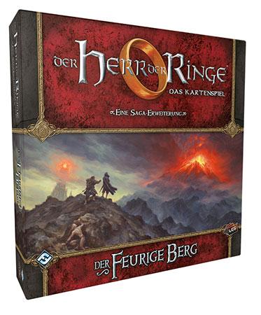 Der Herr der Ringe - Das Kartenspiel: Der Feurige Berg Erweiterung (HDR Saga Erweiterung 6)