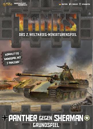TANKS: Panther gegen Sherman – Grundspiel inkl. 3 Panzer