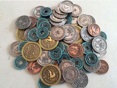 Scythe - Metall Spielgeldmünzen