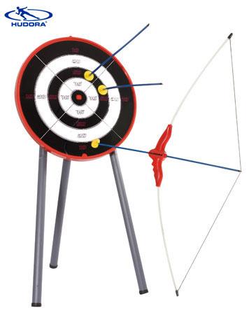 Bogenset mit Zielscheibe (HUDORA)