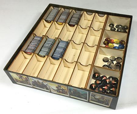 GeekMod - Sortierbox aus Holz für Neuroshima Hex 3.0