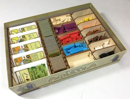 GeekMod - Sortierbox aus Holz für Agricola (Kennerspiel)