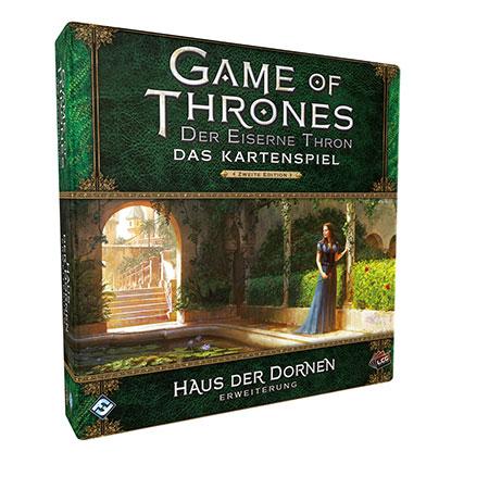 Der Eiserne Thron - Das Kartenspiel 2. Edition - Haus der Dornen Erweiterung