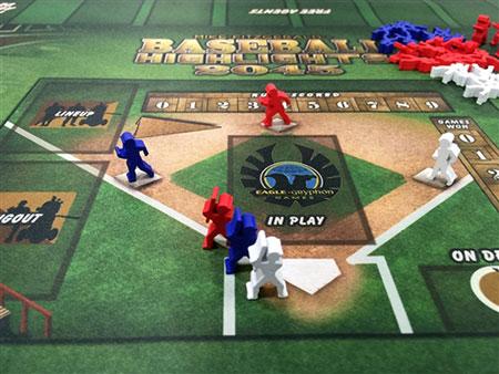 Baseball Highlights 2045 - Set of Runner & Batter Meeples