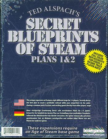 Age of Steam - Secret Blueprints of Steam (Spielplan 1 & 2)