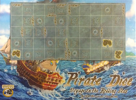 Pirate Dice: Voyage on the Rolling Seas - Rough Waters Erweiterung (engl.)