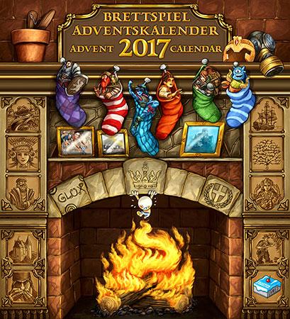 Der Brettspiel - Adventskalender 2017