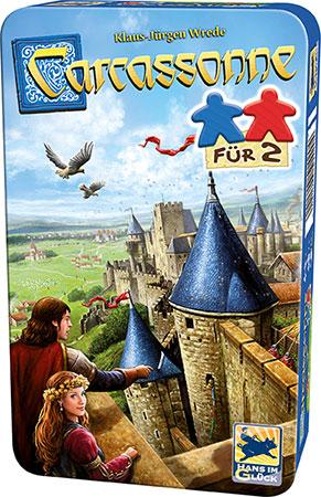 Carcassonne - Für 2 (Mitbringspiel in Metalldose)