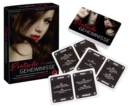 Erotische Geheimnisse - Kartenspiel