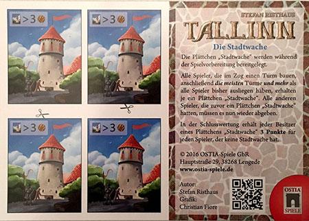 Tallinn - Die Stadtwache