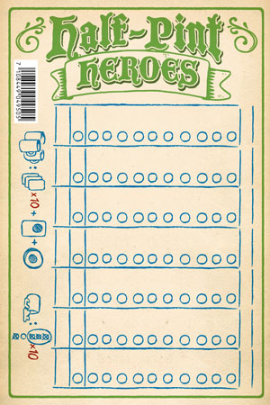 Half-Pint Heroes Punkteblock (50 Blatt)