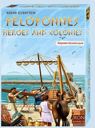 Peloponnes - Heroes and Colonies Erweiterung