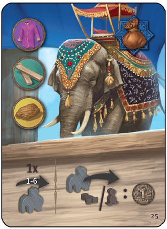 """Agra - Sonderkarte """"Ambari Elefant"""""""