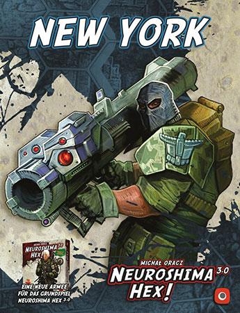 Neuroshima Hex 3.0 - New York Erweiterung