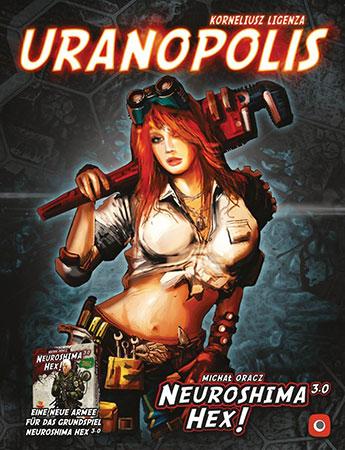 Neuroshima Hex 3.0 - Uranopolis Erweiterung