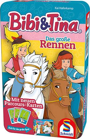 Bibi & Tina - Das große Rennen (Metalldose)