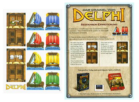 Das Orakel von Delphi - Seefahrer Erweiterung