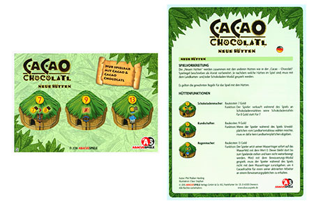 Cacao - Chocolatl - Neue Hütten Erweiterung