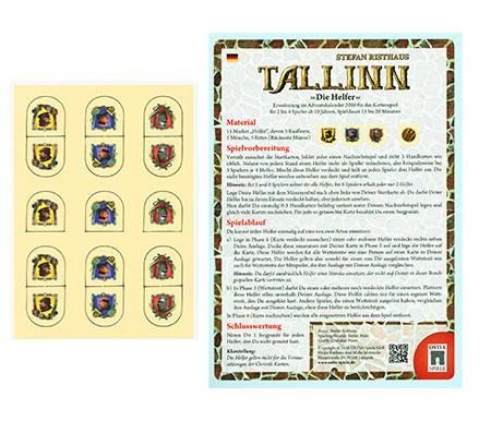 Tallinn - Die Helfer Erweiterung