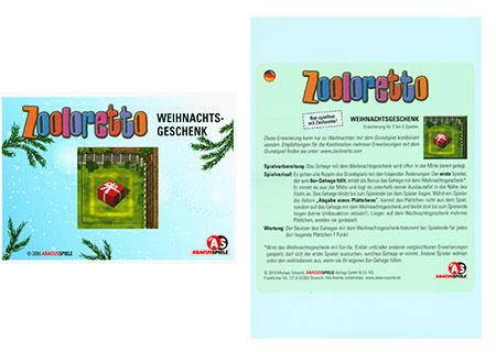 Zooloretto - Weihnachtsgeschenk Erweiterung
