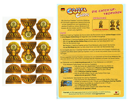 Camel Up Cards - Die Catch´Up-Trophäen Erweiterung