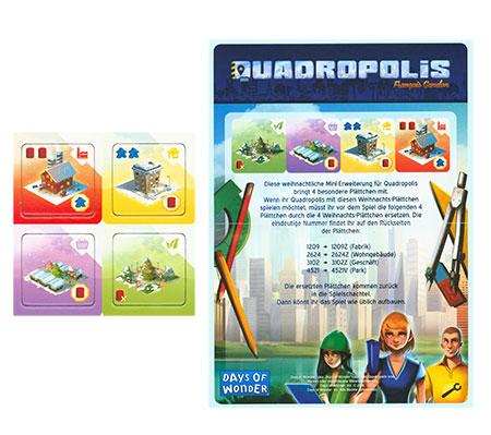 Quadropolis - Weihnachtliche Erweiterung