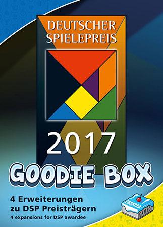 Deutscher Spielepreis 2017 - Goodie Box