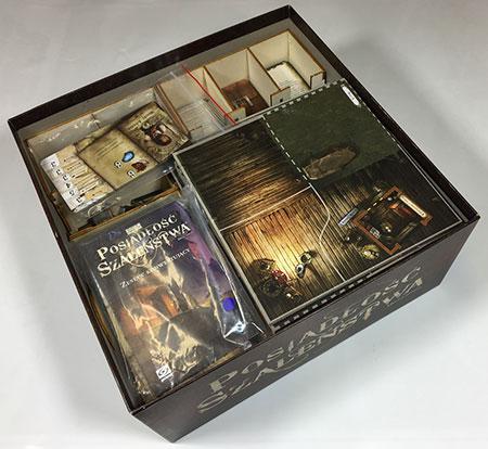GeekMod - Sortierbox aus Holz für Villen des Wahnsinns - 2. Edition