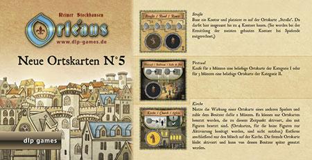 Orléans - Ortskarten (Edition 5) Erweiterung