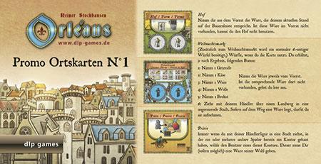 Orléans - Ortskarten (Sonderedition 1) Erweiterung