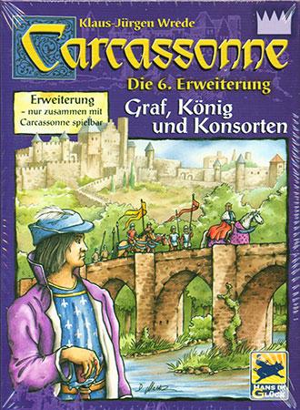 Carcassonne - 6.Erweiterung: Graf, König und Konsorten (alte Schachtelversion)