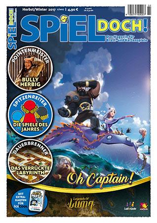 Spiel Doch! - Magazin 02/2017 inkl. Sonderkarten für ICECOOL