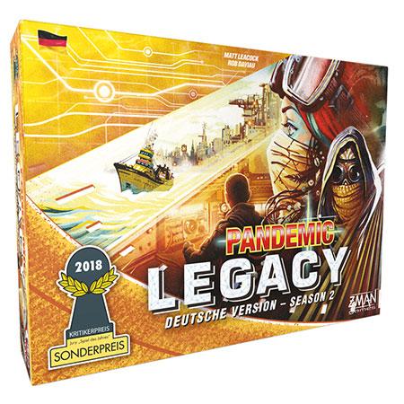 Pandemic Legacy - Season 2 (gelb)
