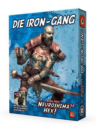 Neuroshima Hex 3.0 - Die Iron Gang Erweiterung